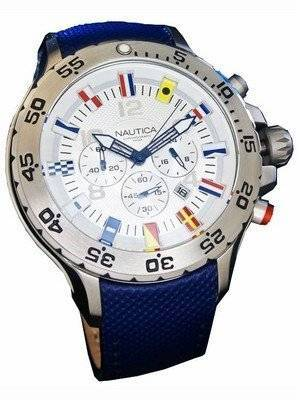 Nautica N16530G Nst Chrono Flag Mens Watch