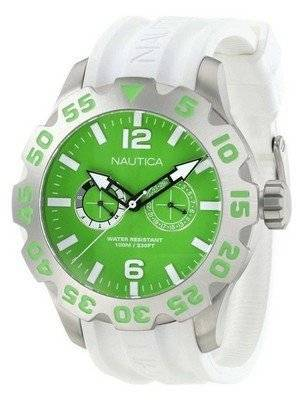 Nautica BFD 100 Green Dial N16617G Men's Watch