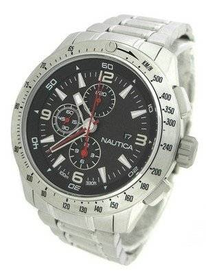 Nautica Chronograph Black Dial N21522G Men's Watch