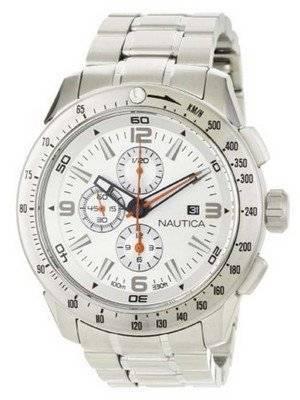 Nautica Chronograph Silver Dial N21524G