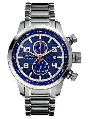 Nautica Chronograph Blue Dial N22550G Men's Watch