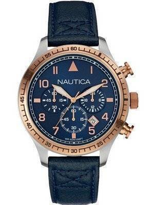 Nautica Sports Navy Dial Chronograph NAI17500G Men's Watch