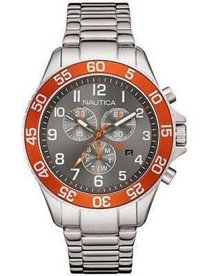 Nautica Quartz Chronograph Grey Dial NAI17511G Men's Watch