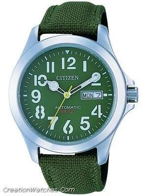 Citizen OXY Military Automatic NH7350-03X