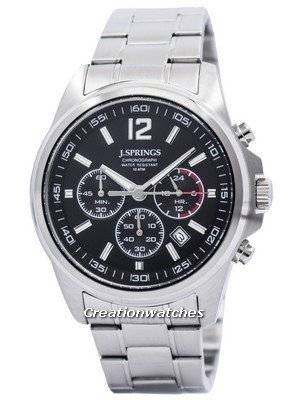 J.Springs by Seiko Chronograph Stainless Steel 100M NPFC401 Men's Watch