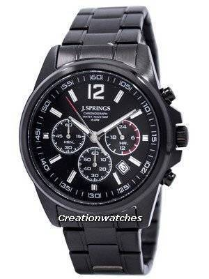 J.Springs by Seiko Chronograph Stainless Steel 100M NPFC403 Men's Watch