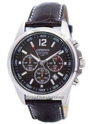 J.Springs by Seiko Chronograph Stainless Steel 100M NPFC404 Men's Watch
