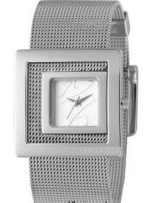 DKNY Contemporary Silver Bracelet Fashion Watch NY4302