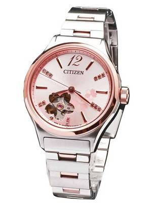 "Citizen Automatic ""SAKURA"" Limited Edition Swarovski Crystals PC1006-50X Women's Watch"