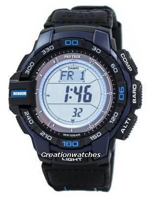 Casio Protrek Triple Sensor PRG-270B-2 Solar Powered Watch