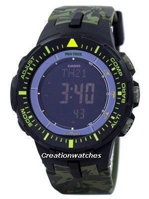 Casio Protrek World Time Low Temperature Tough Solar Digital PRG-300CM-3 PRG300CM-3 Watch