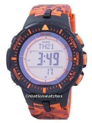Casio Protrek Tough Solar Triple Sensor Digital PRG-300CM-4 Men's Watch