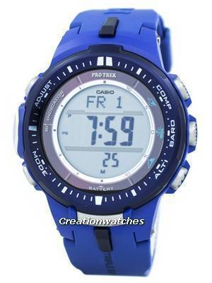 Casio Protrek Atomic Tough Solar Triple Sensor Blue PRW-3000-2B Watch