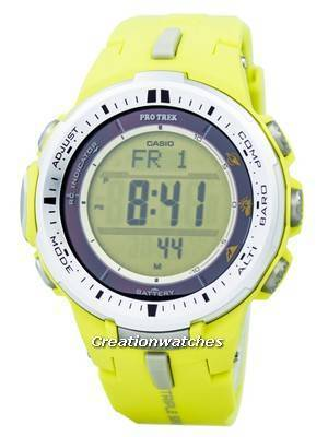 Casio Protrek Triple Sensor Atomic PRW-3000-9B Watch