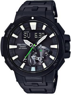 Casio Protrek Analog-Digital Atomic Triple Sensor PRW-7000FC-1JF Watch