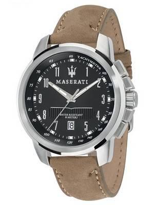 Maserati Successo Tachymeter Quartz R8851121004 Men's Watch