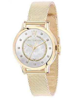 Maserati Epoca Quartz Diamond Accents R8853118502 Women's Watch
