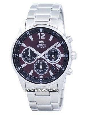 Orient Sports Chronograph Quartz Japan Made RA-KV0004R00C Men's Watch
