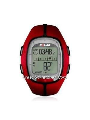 Polar Running Heart Rate Monitor Watch RS200 Red