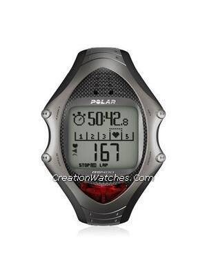 Heart Rate Monitor Watch Designed For Men Black - 1 Monitor(s) Heart