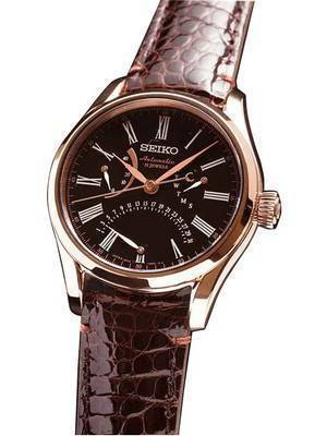 "Seiko Automatic Presage 31 Jewels ""URUSHI"" Japan Made SARD012 Men's Watch"