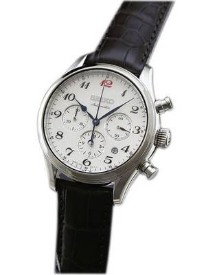 Seiko Presage Automatic Chronograph Japan Made SARK011 Men's Watch