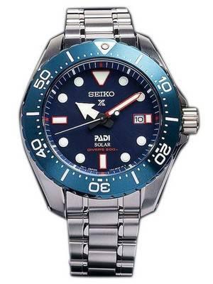 Seiko Prospex PADI Titanium Solar Diver's 200M Limited Edition SBDJ015 Men's Watch