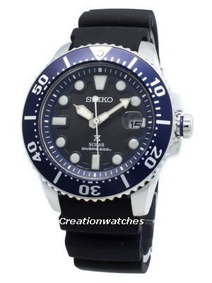 Seiko Prospex Solar 200M Diver Japan Made SBDJ019 Men's Watch