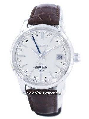 Grand Seiko HI-BEAT 36000 GMT Automatic Power Reserve 37 Jewels SBGJ017 Men's Watch