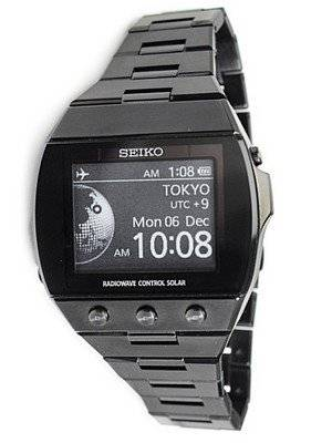 Seiko Brightz Solar Wave Active Matrics EPD SDGA003 Watch