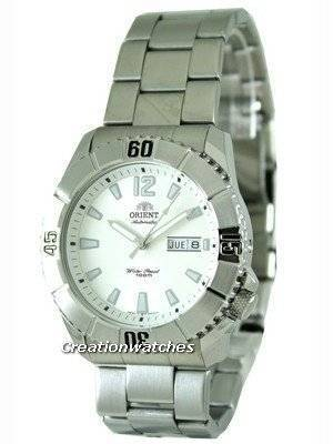 Orient Sporty White Dial Automatic EM7D005W