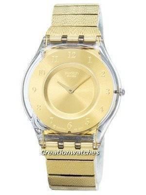 Swatch Skin Warm Glow Quartz SFK355G Women's Watch