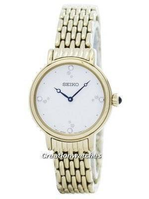 Seiko Quartz Swarovski Crystals SFQ804 SFQ804P1 SFQ804P Women's Watch