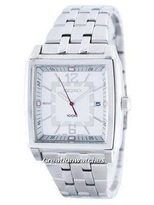Seiko Quartz Square Shape SGED73 SGED73P1 SGED73P Men's Watch