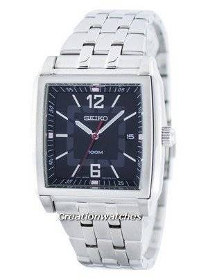 Seiko Quartz Square Shape SGED75 SGED75P1 SGED75P Men's Watch