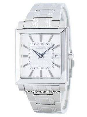 Seiko Quartz Square Shape SGEE03 SGEE03P1 SGEE03P Men's Watch