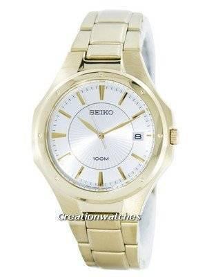 Seiko Quartz Analog Gold Tone SGEF64 SGEF64P1 SGEF64P Men's Watch