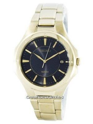 Seiko Quartz Analog Gold Tone SGEF66 SGEF66P1 SGEF66P Men's Watch