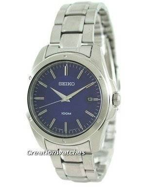 Seiko Quartz Stainless Steel SGEF77P1 SGEF77P Mens Watch