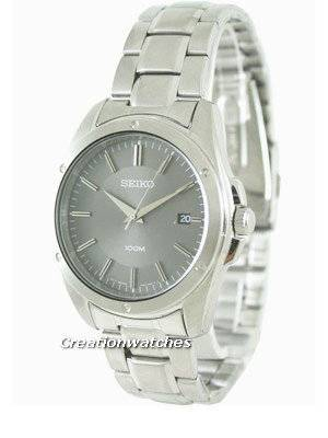 Seiko Quartz Stainless Steel SGEF79P1 SGEF79P Mens Watch