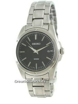 Seiko Quartz Stainless Steel SGEF81P1 SGEF81P Mens Watch