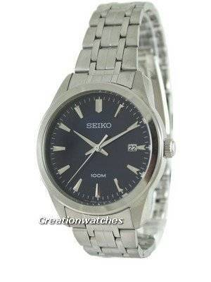 Seiko Quartz Stainless Steel SGEG03P1 SGEG03P Mens Watch
