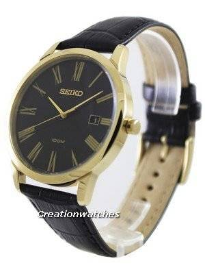 Seiko Montre Quartz Black Dial SGEH14P1 SGEH14P Men's Watch