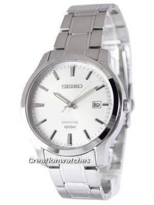 Seiko Neo Classic Quartz Sapphire 100M SGEH39 SGEH39P1 SGEH39P Men's Watch