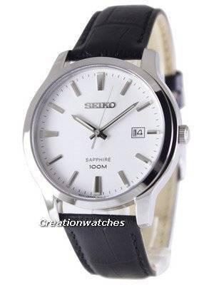 Seiko Neo Classic Quartz Sapphire 100M SGEH43 SGEH43P1 SGEH43P Men's Watch
