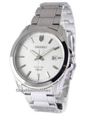 Seiko Neo Classic Quartz Sapphire 100M SGEH45 SGEH45P1 SGEH45P Men's Watch