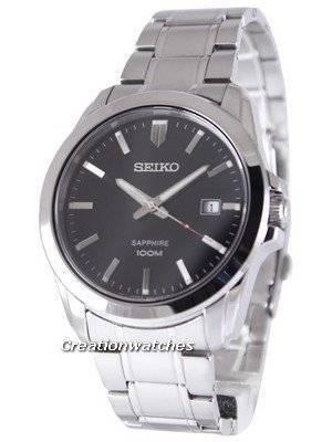 Seiko Neo Classic Quartz Sapphire 100M SGEH49 SGEH49P1 SGEH49P Men's Watch