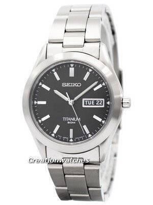 Seiko Titanium SGG599 SGG599P1 SGG599P Men's Watch