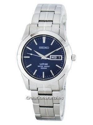 Seiko Sapphire SGG717 SGG717P1 SGG717P Men's Watch