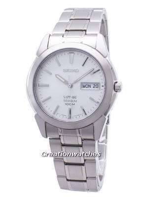 Seiko Titanium Sapphire SGG727 SGG727P1 SGG727P Men's Watch